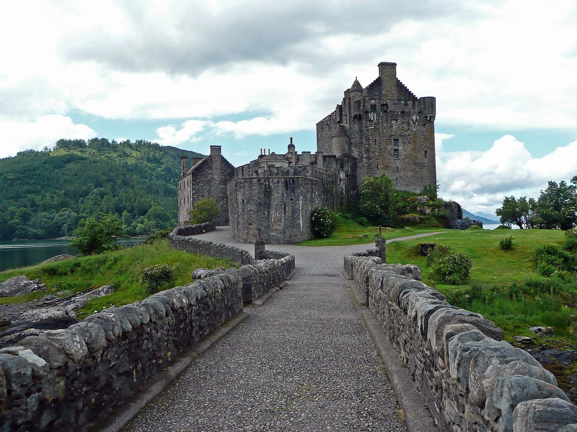 Castelo-de-Eilean-Donan