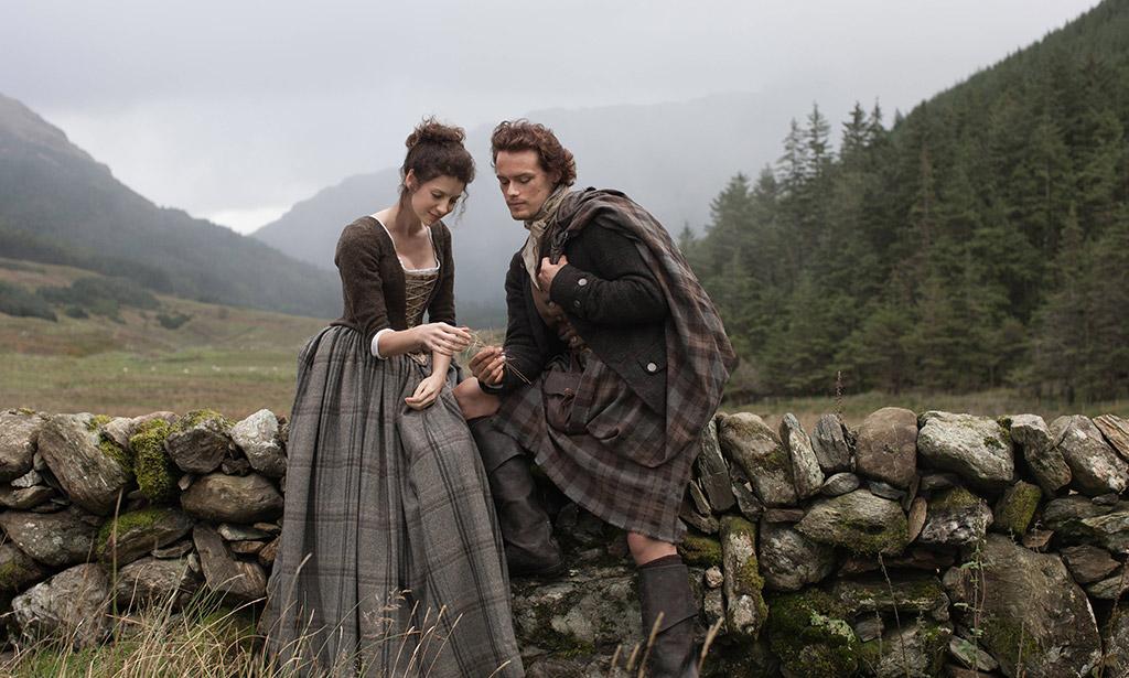 cenários da série outlander na escócia