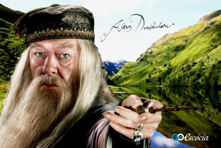 O lugar serviu de plano de fundo ao tumulo de Dumbledore. Imagens foram sobrepostas para dá o resulto perfeito na tela.
