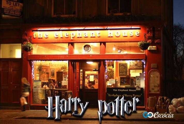 Que tal começar seu passeio na Escócia no lugar que J.K. Rowling começou a escrever a saga Harry Potter?