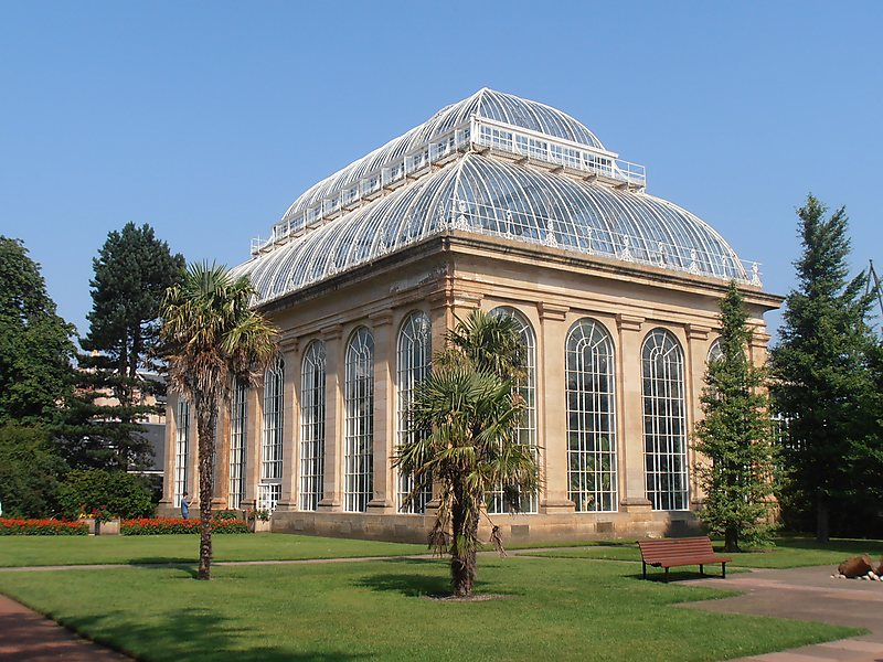 jardim botânico de edimburgo