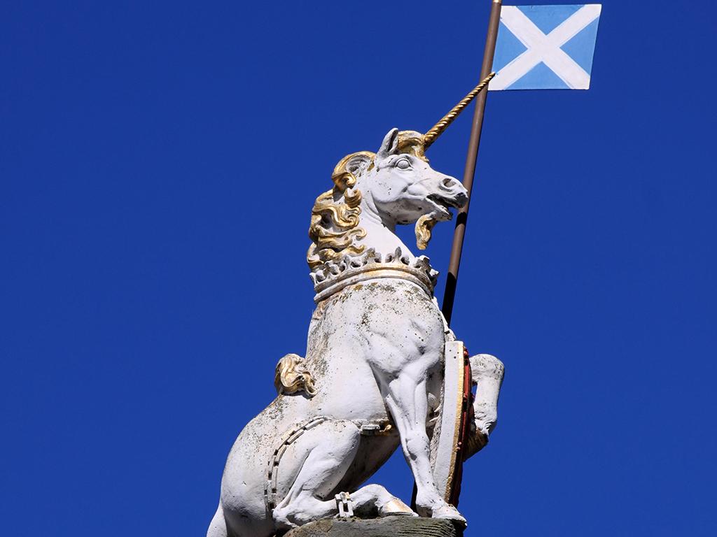 Unicórnios e a Escócia - Go Escócia